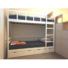 Кровать Юниор 8, белая