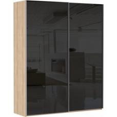 Эста 2-х дверный 8 черных стекол (Е1)