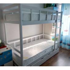 Кровать Юниор 7, белая