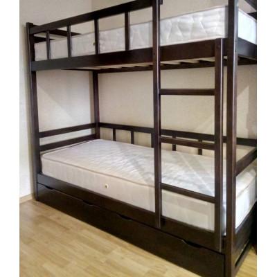 Кровать двухъярусная Юниор 7, венге