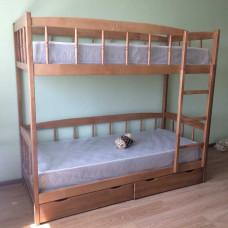 Кровать Юниор 4М (светлая ольха)