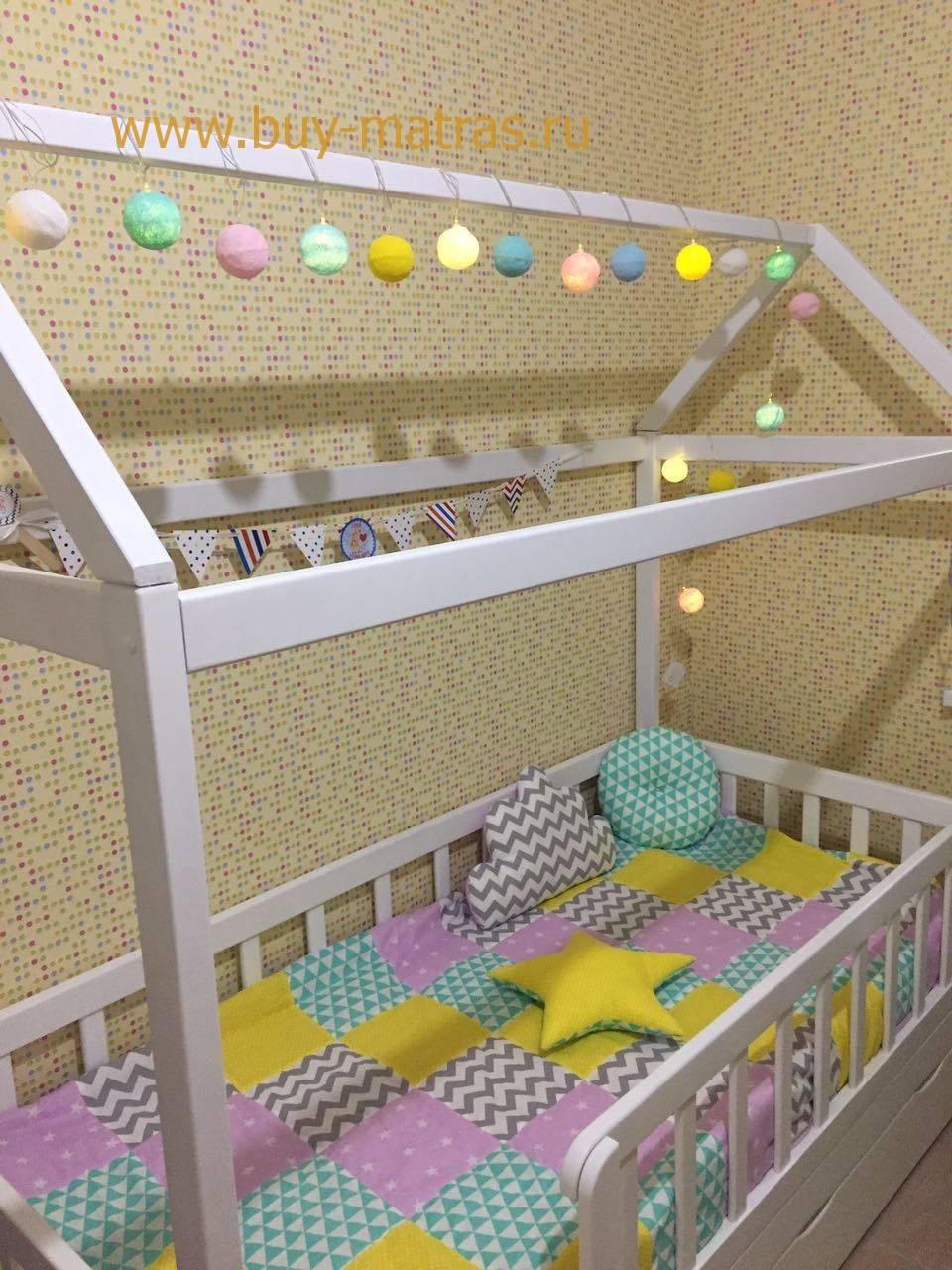 Кровать домик детская Москва