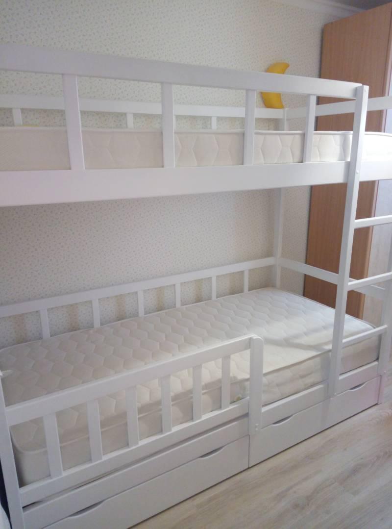 Детская двухъярусная кровать Икея