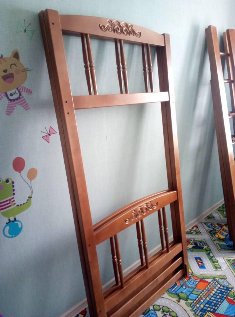 Сборка двухъярусной кровати Step 1