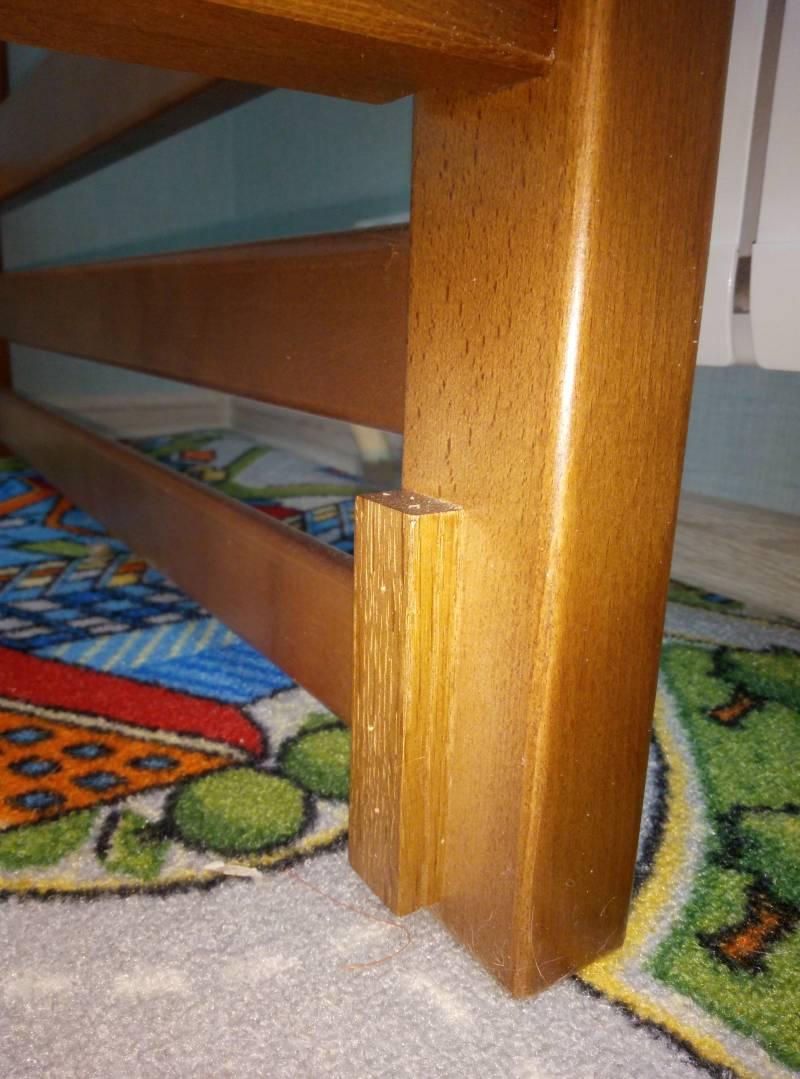 Сборка двухъярусной кровати Step 2