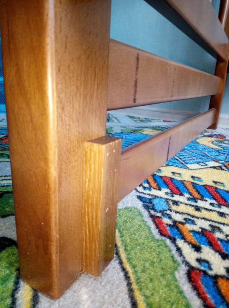 Сборка двухъярусной кровати Step 3