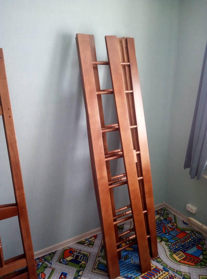 Сборка двухъярусной кровати Step 4