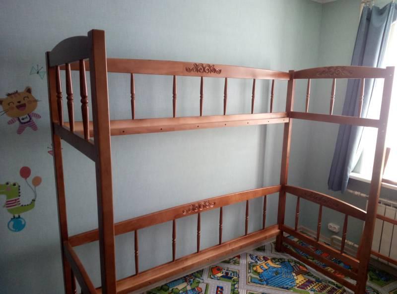 Сборка двухъярусной кровати Step 6