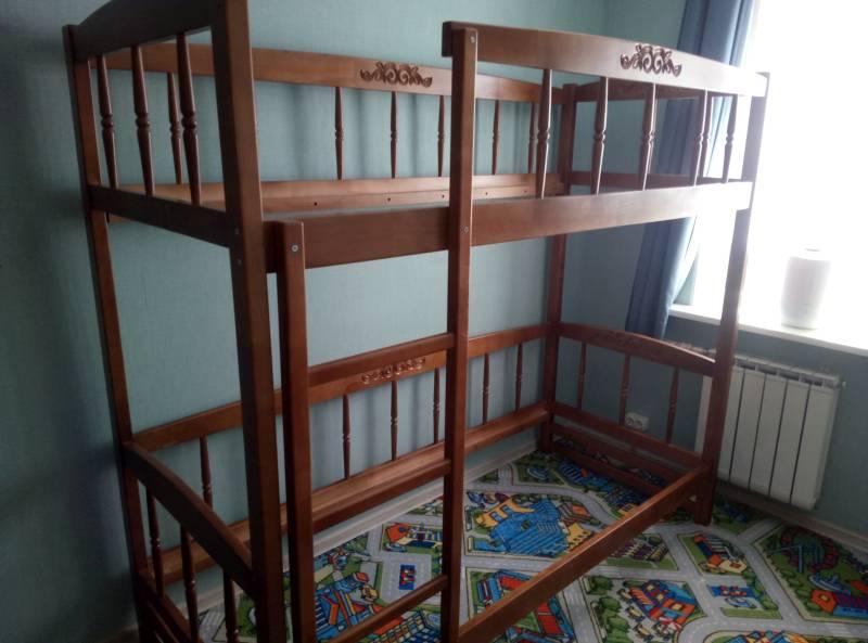 Сборка двухъярусной кровати Step 7