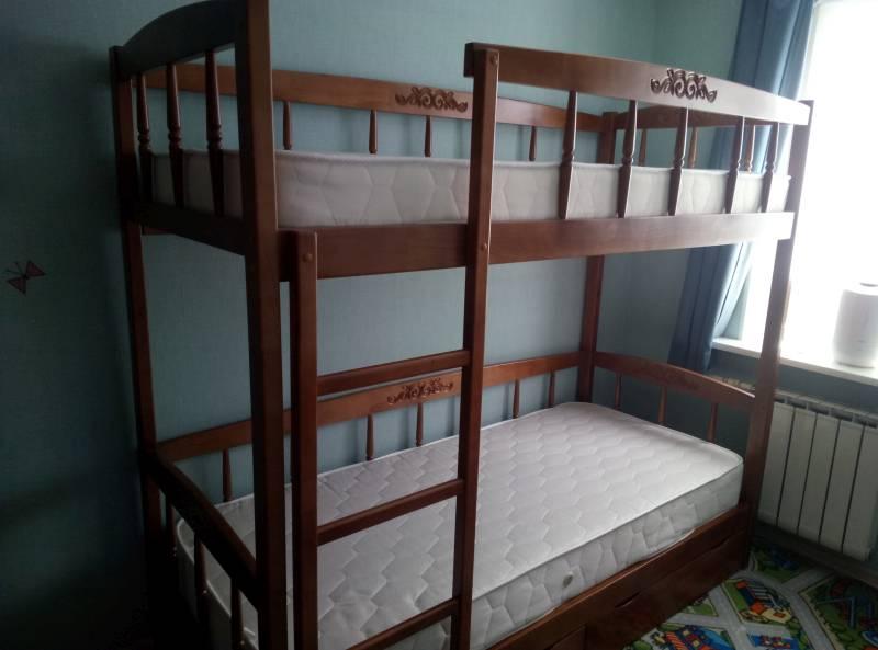 Сборка двухъярусной кровати Step 8